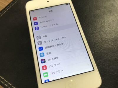 北九州市小倉北区よりiPod6のバッテリー交換