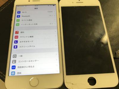 北九州市よりiPhone7の液晶不具合