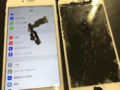 北九州市よりiPhone6の液晶不具合+インカメラケーブル