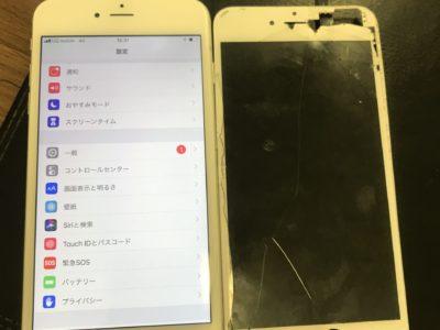 北九州市よりiPhone6Plusの液晶不具合