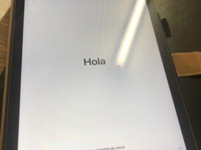 北九州市よりiPad6の初期化作業