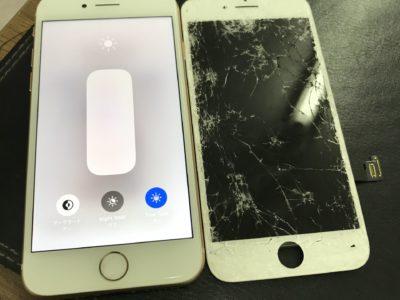 北九州市よりiPhone8の液晶不具合(HQパネル)