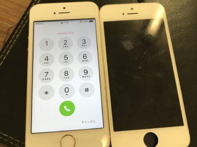 北九州市よりiPhoneSEの液晶不具合