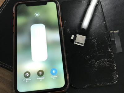 北九州市よりiPhoneXRの液晶不具合+リアカメラ交換
