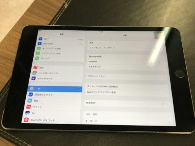 北九州市よりiPadmini4のバッテリー交換+ホームボタン修理