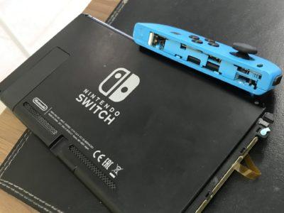 北九州市より任天堂Switchのジョイコンレール外れ