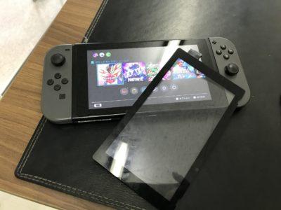 北九州市より任天堂Switchのパネル交換
