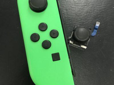 任天堂Switchのジョイコンアナログステック交換