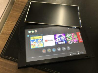 任天堂Switchの液晶不具合