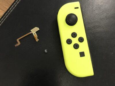 北九州市より任天堂SwitchのLボタンケーブル交換