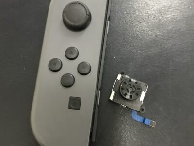 北九州市より任天堂Switchのアナログスティック交換