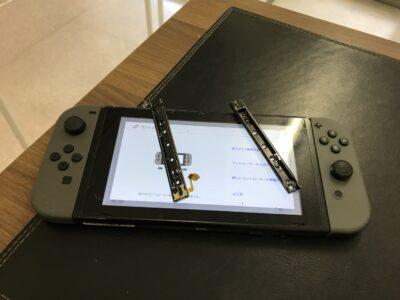 下関市より任天堂Switchの本体レール交換